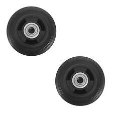 "Set of 2 New 3 7/8"" Wheel Tires 1-3/4"" Hub Length 1/2"" ID Bearing For Generator"