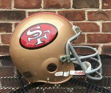 Vintage Steve Young Riddell  WD-1 Football Helmet San Francisco 49ers