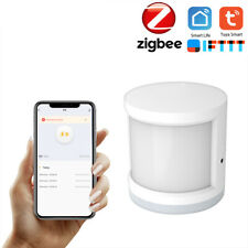 Wireless Wifi PIR Motion-Sensor-Detector Humidity +Temperature Tuya Zigbee Y6A1