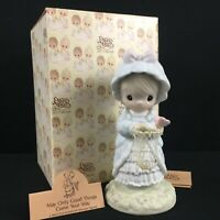 New VTG 1990 Precious Moments Figurine May Only Good Things Come Your Way 524425