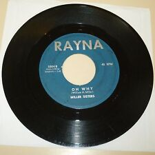 NORTHERN SOUL 45 RPM RECORD - MILLER SISTERS - RAYNA 5004