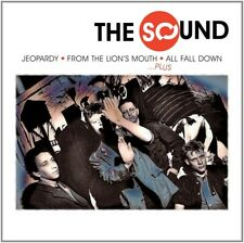 THE SOUND - JEOPARDY+FROM THE LION'S MOUTH+ALL FALL DOWN... 4 CD NEU
