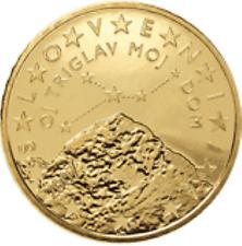 Slovenië  2007    50 cent    UNC uit de rol    UNC du rouleaux !!!