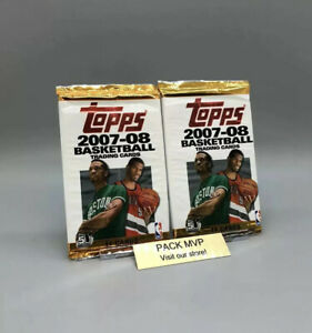 2007-08 Topps Basketball Retail Pack Lot Factory Sealed New NBA Kevin Durant RC?
