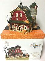 Dept. 56 Light-Up Porcelain Haunted Barn Gift Set Halloween Snow Village 5655060