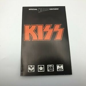 KISS Special Wizard Edition Comic Book Magazine 1998 Vintage T4