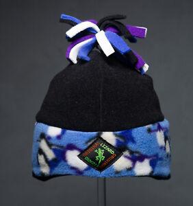 Andean Fleece Outdoor Hat - Penguin Print