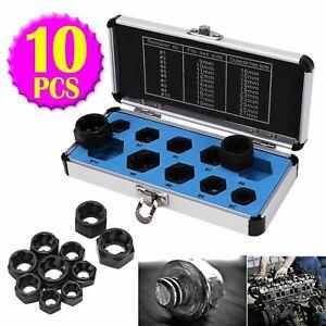 10 Damaged Nut Bolt Remover 9-19mm Car Garage Mechanics Tool Extractor UR