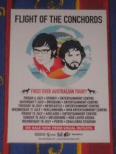 FLIGHT OF THE CONCHORDS - AUSTRALIAN TOUR  -  PROMO TOUR POSTER
