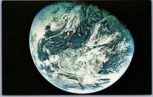 Vintage Postcard NASA Earth View Planet Space Apollo 8 Western Hemisphere