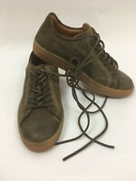 Frye Ludlow Cap Low Lace Mens Brown Leather Low Top Lace Up Sneakers Shoes 7.5