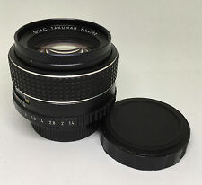 【EXC++++】Pentax smc Takumar 50mm f1.4 M42 Lens S/N:6592579 From Japan