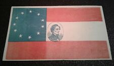 Civil War Envelope - Csa - Civil War Postal Cover - 11 Star Flag