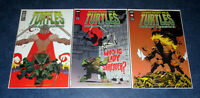 TMNT URBAN LEGENDS #24 25 26 B VARIANT set IDW TEENAGE MUTANT NINJA TURTLES NM