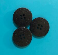 Three (3) Black UGGs Replacement Buttons for your Boots (3cm. spare, extra) UGH