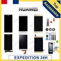 VITRE TACTILE + ECRAN LCD POUR HUAWEI P6/7/8/9/10/20/30 MATE HONOR NOVA + COLLE