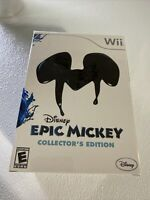 Disney Epic Mickey Collector's Edition (Wii) - New & Sealed