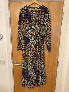 Asos Curve Maxi Wrap Dress 22