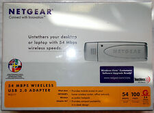 ADATTATORE WIFI USB - 54 MBPS WIRELESS USB 2.0 ADAPTER/ NETGEAR WG111