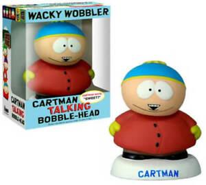 South Park - Wacky Wobbler CARTMAN Talking Bobblehead 2008 Funko  NEW IN BOX