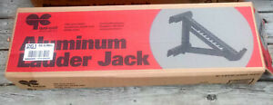 Ladder Jack by Qual Craft 2420 Silver Aluminum Riveted/Welded 2-Rung Short Body