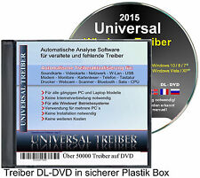 Universal Treiber DVD für Windows PC & Notebook - Alle Modelle ★CD Jewel Case★