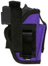 USA Mfg Purple Pistol Holster Kel-Tec P3AT P-32 Extra Mag pouch Ambidextrous