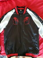 DISNEY STAR WARS DARTH VADER SATIN JACKET MENS SIZE MEDIUM
