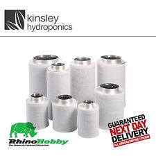 "Rhino Hobby Filter 4"" 100 x 300 Carbon 350m3/Hr Odour Control Hydroponics"