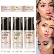 SACE LADY Illuminator Makeup Highlighter Cream Liquid Face Body Brighten Shiny