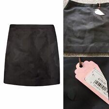 Ted Baker Black Camouflage Suit Skirt Self Pattern BNWT €170 Sz 0 U.K. 6 Kholis