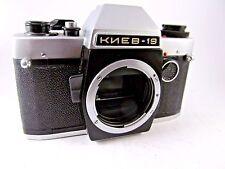 KIEV 19 Russian SLR camera USSR 1992 Nikon mount BODY Case Rare Soviet GOOD COND