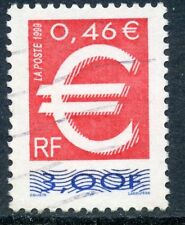 TIMBRE FRANCE OBLITERE N° 3214 LE TIMBRE EURO / Photo non contractuelle