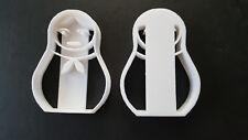3D gedruckt Plätzchenausstecher Russische Matroschka Ausstechform Keksausstecher