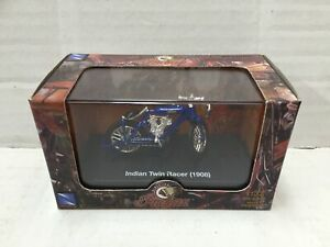 New Ray 1:32 Diecast Moto INDIAN TWIN RACER ( 1908 ) MIB