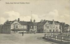 Ross Postcard - HUNTLEY ARMS HOTEL AND FOUNTAIN, ABOYNE, ABERDEENSHIRE, SCOTLAND