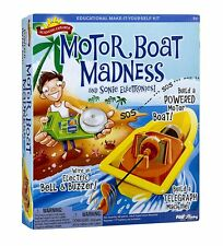 Scientific Explorer Motor Boat Madness Sonic Electronics Educational Make-It Kit