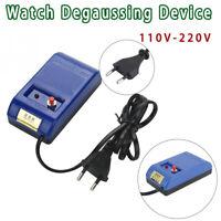 Demagnetizer Watch Repair Screwdriver Tweezers Electrical Watch Time Adjustment