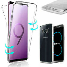 Case cover 360 full touch silicone for samsung s6 s7 s8 plus s9 s10 note 8 9