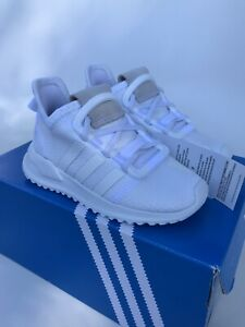 Adidas U_Path Run Infant Toddler Size 8K White G28119