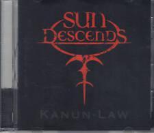 SUN DESCENDS-KANUN-LAW-CD-exumer-slayer-thrash-metal-phobic instinct-rare
