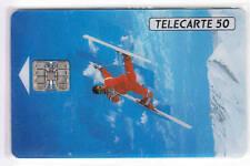 VARIETE TELECARTE .. 50U F222C SKI ACROB. ESSAI PLEXI  C22037230  UT/TBE C.22€