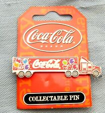 #T22.  COCA COLA COKE COLLECTABLE PIN - TRUCK, SEMI TRAILER