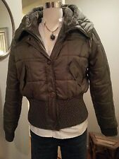 "NWOT GREEN BUTTON DOWN SHORT JACKET/COAT 'HONEE"" SIZE L FITS SIZES 5-6, - 7-8"
