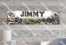 Personalized/Customized New England Patriots Poster Wall Art Decoration Banner