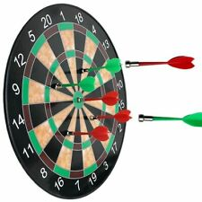 """11.5"""" Magnetic Dart Board with 6 Darts Classic Game Played Indoors"""