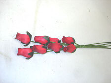 80 pc. Wood Roses Flowers Wholesale Lot Fundraisers Bulk Floral Craft #3
