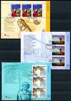 Portugal, Azoren, Madeira 3 CEPT Blöcke aus 1997 Ersttagssonderstempel (O5189