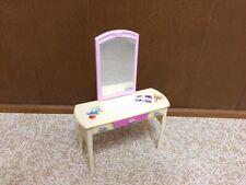2002 Barbie Doll Decor Collection Dresser Vanity Mirror House Bedroom Furniture