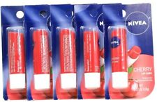 5 Ct Nivea 0.17 Oz Instant Hydrate Cherry Lip Care With Shea Butter Extract